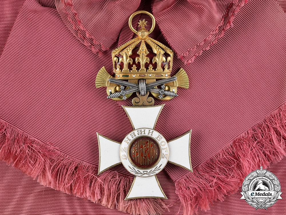 Bulgaria, Kingdom. An Order of St. Alexander, I Class Grand Cross with Swords