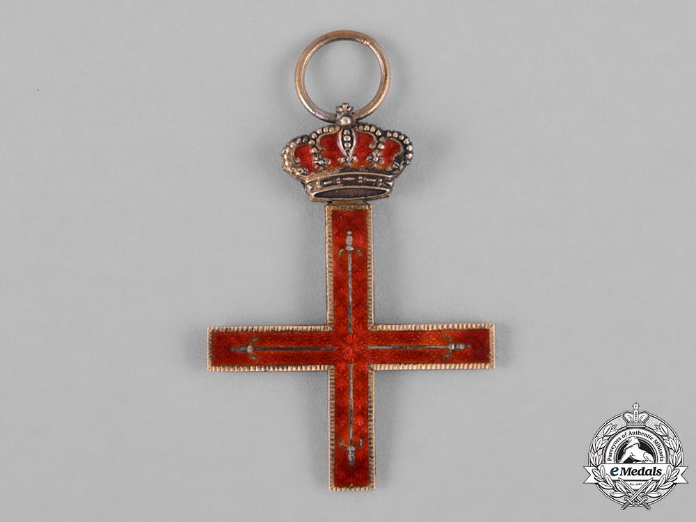 Spain, Franco Period. A Royal Military Estamento of the Principality of Gerona, Grand Cross c.1950