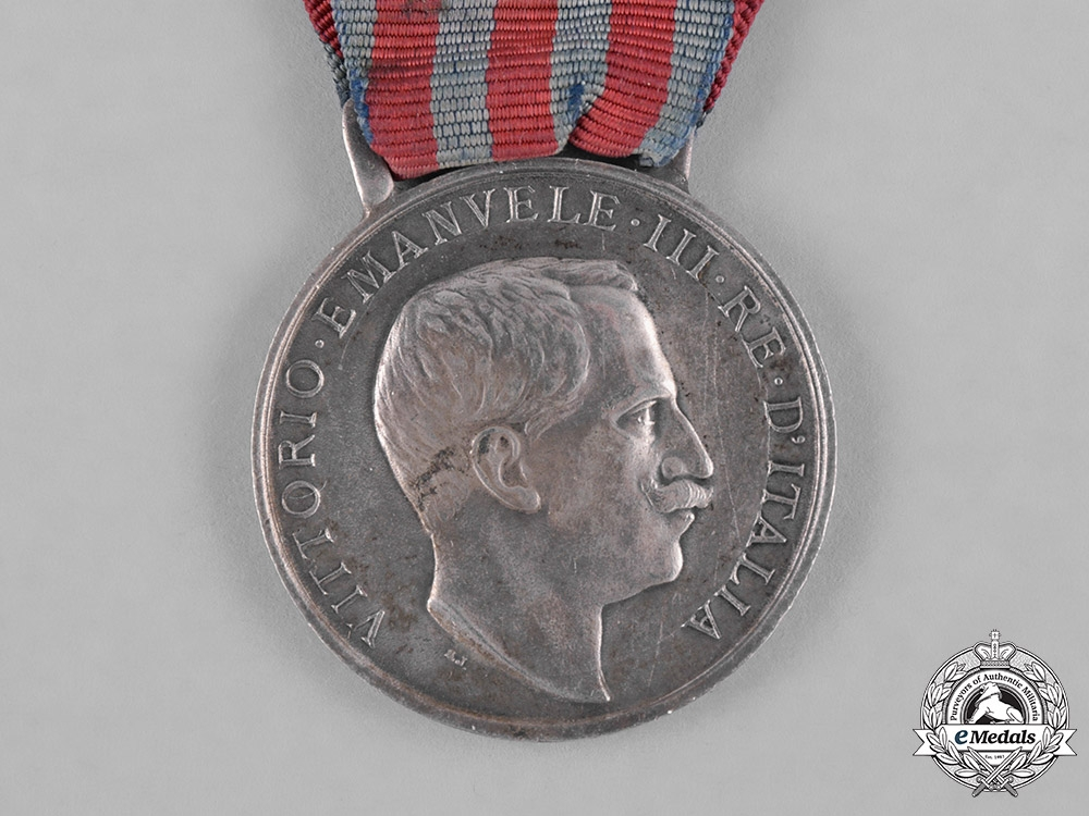Italy, Kingdom. A Medal for the Libyan Campaigns, c.1914