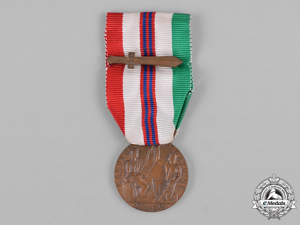 Italy, Kingdom. A Medal for the War of Liberation 1943-1945, Unofficial Version