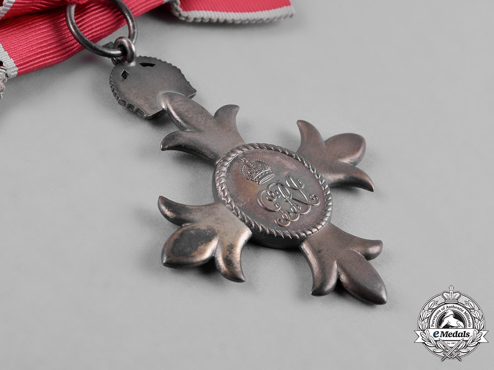 United Kingdom. A Most Excellent Order of The British Empire, (MBE) Breast Badge for Women, c.1950