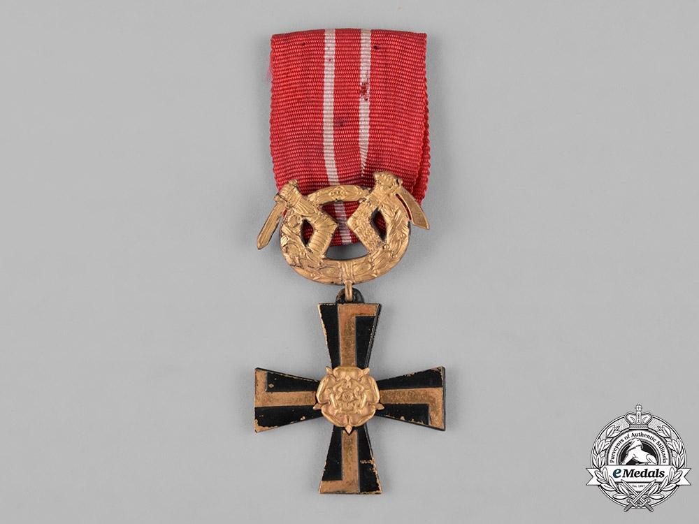 Finland, Republic. An Order of the Cross of Liberty, III Class, c.1920