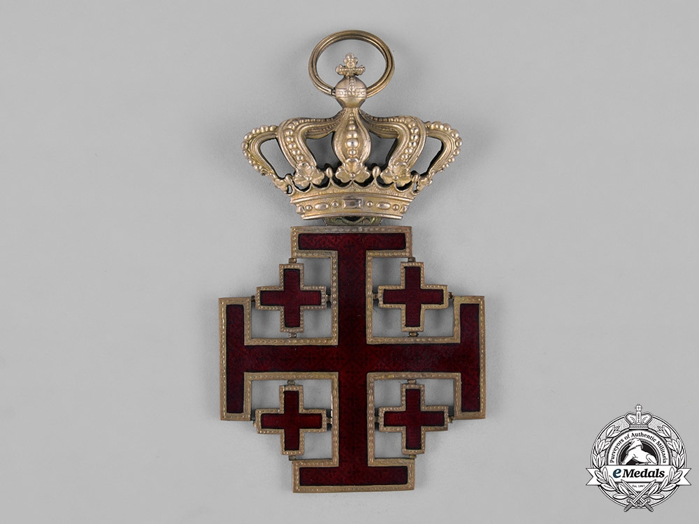 Vatican, City State. An Equestrian Order of the Holy Sepulchre, Grand Cross, c.1900