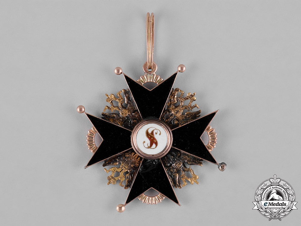 Russia, Imperial. An Order of Saint Stanislaus in Gold, II Class Commander, c.1860