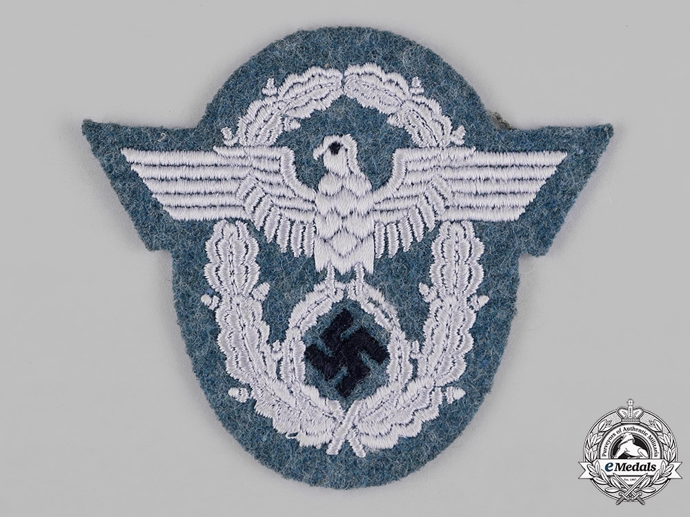 Germany, Ordnungspolizei. A Police Administration Sleeve Insignia