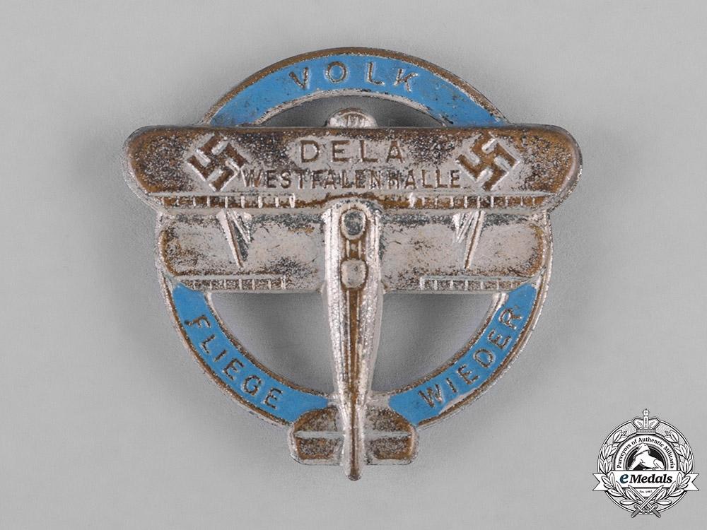 Germany, DLV. A German Air Sports Association (DLV) Glider Badge