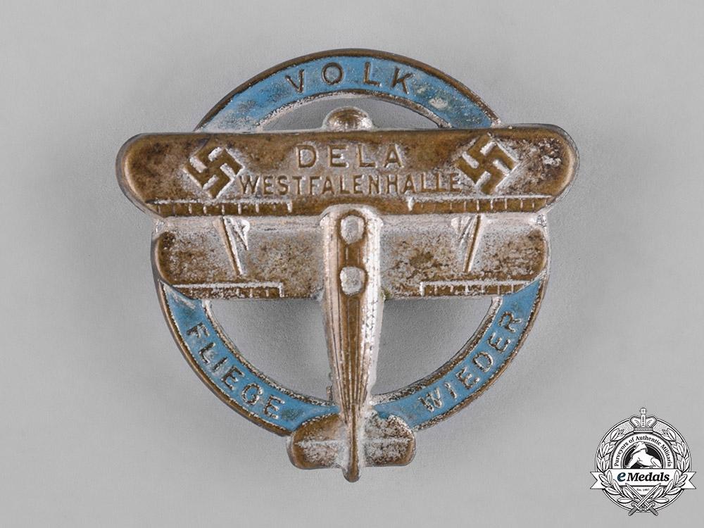 Germany, DLV. An Air Sports Association Westphalia Badge