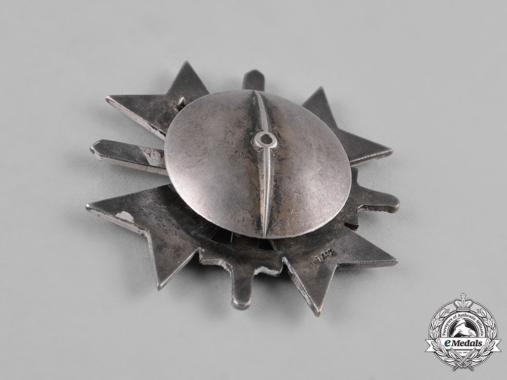 Germany, Wehrmacht. A War Merit Cross, I Class with Swords, by C.E. Juncker, with Case