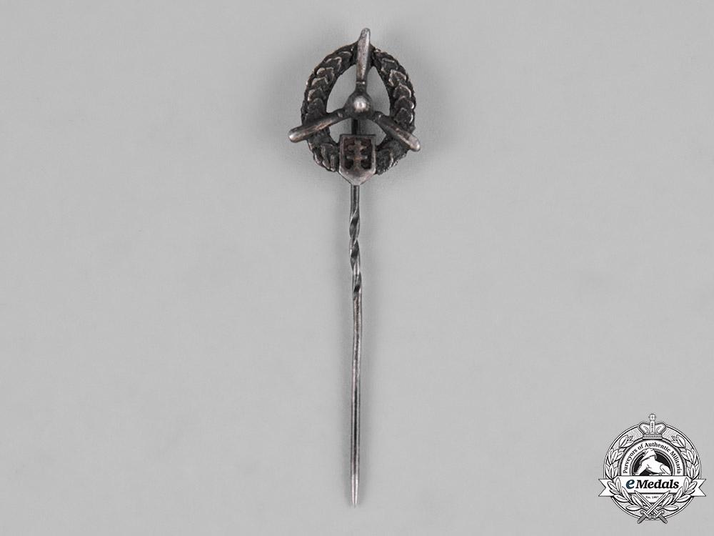 Slovakia, Republic. An Air Force Mechanic's Badge Stickpin, c.1940