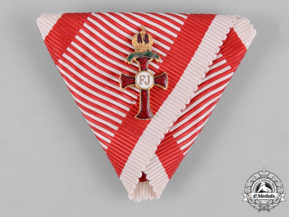 Austria, Empire. An Order of Franz Joseph War Decoration, c.1918