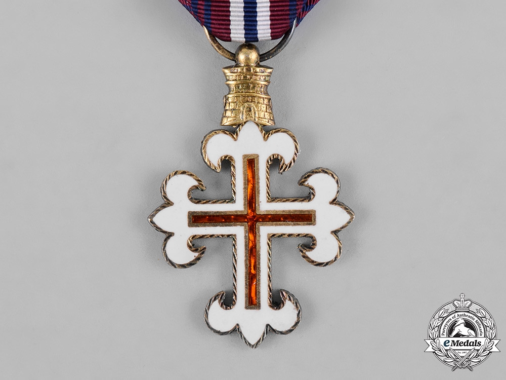 Portugal, Republic. An Order of Military Merit, IV Class, c.1960