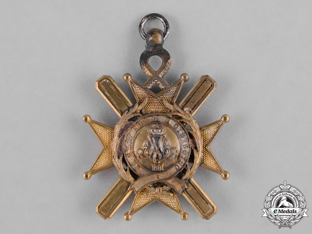 Serbia, Kingdom. An Order of the Cross of Takovo, V Class, Knight, c.1900