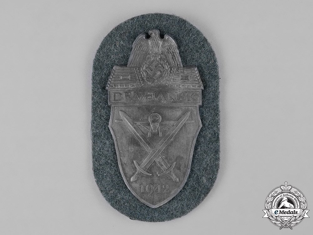 Germany, Wehrmacht. A Heer (Army) Issued Demjansk Shield