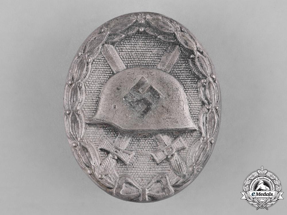Germany, Wehrmacht. A Wound Badge, Silver Grade, by Josef Rückert & Sohn