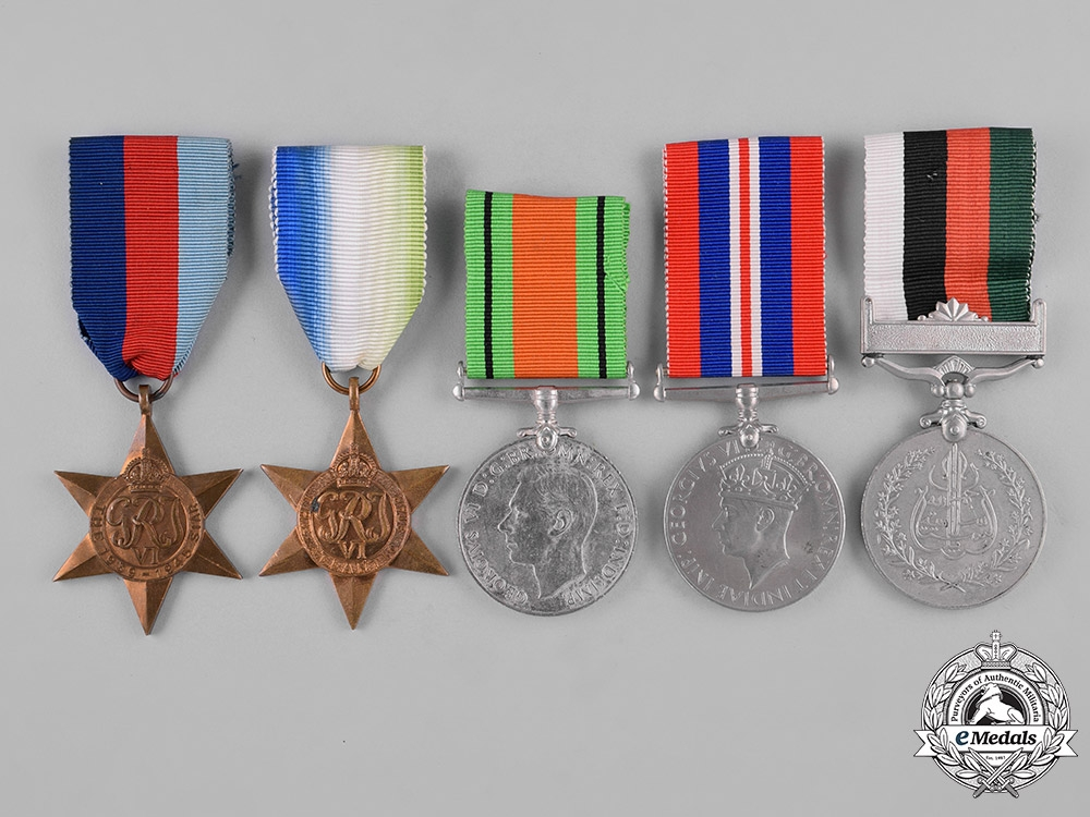 United Kingdom. A Lot of Ten Campaign Medals & Awards