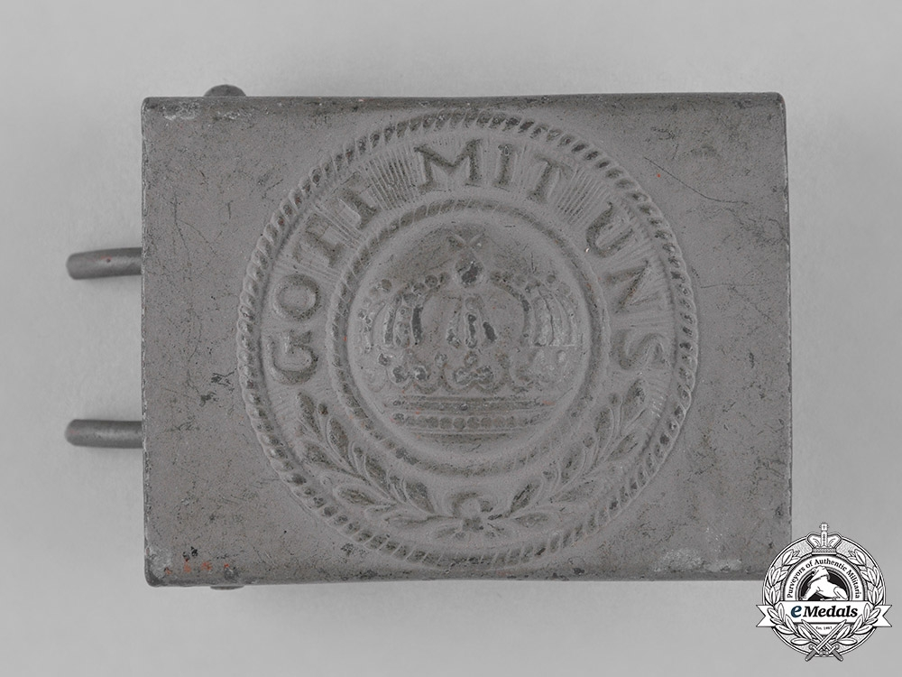 Germany, Imperial. A Belt Buckle & Two Cockades, c.1916