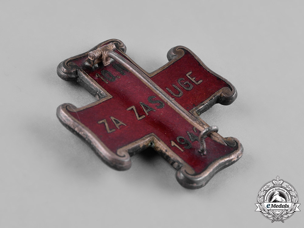 Croatia, Republic. An Order of Merit, II Class for Christians, c.1943