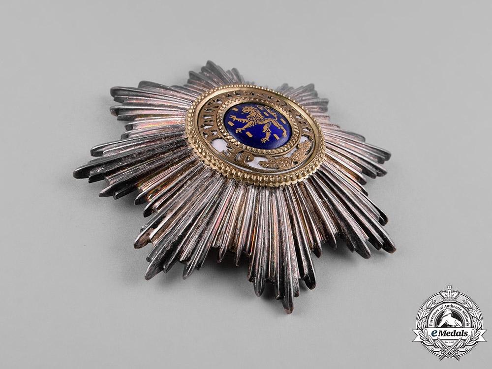 Netherlands, Kingdom. An Order of the Orange-Nassau, Grand Cross Star, c.1930
