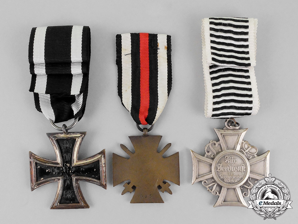 Germany, Imperial. Three First War and Weimar Period Medals and Awards