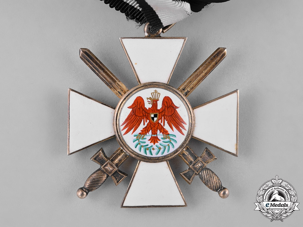 Prussia, State. An Order of the Red Eagle, II Class with Swords, by Wagner c.1917