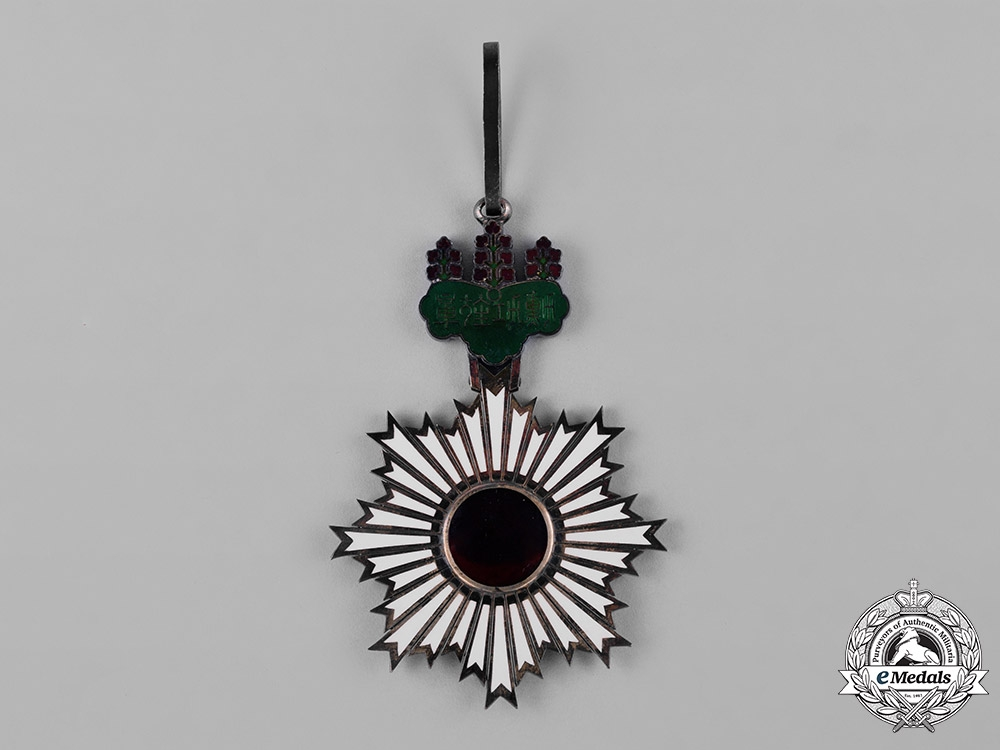 Japan, Imperial. An Order of the Rising Sun, I Class Grand Cordon, c.1900