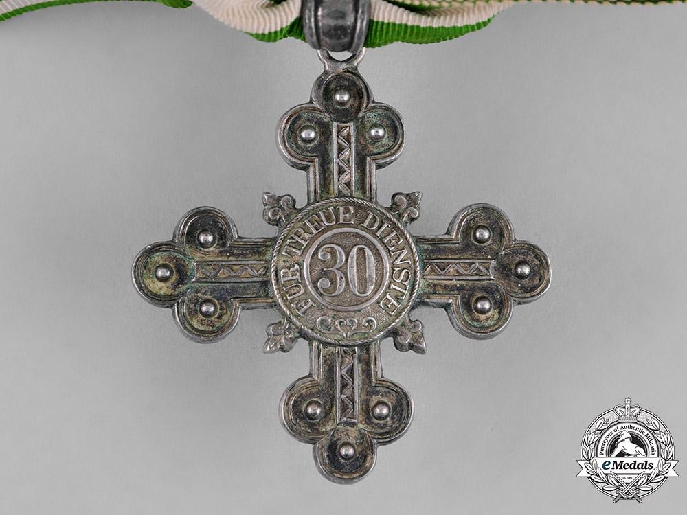 Saxe-Coburg and Gotha, Duchy. A 30-Year Long Service Cross, c.1910