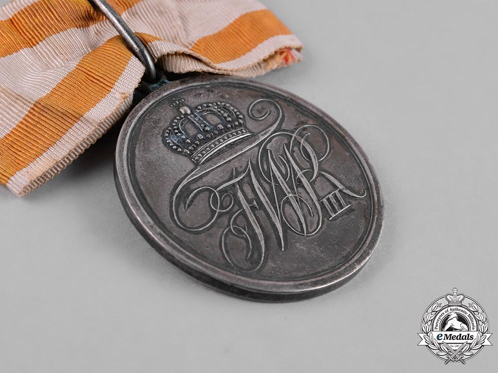 Prussia, Kingdom. A Military Honour Medal, II Class, Ladies Recipient