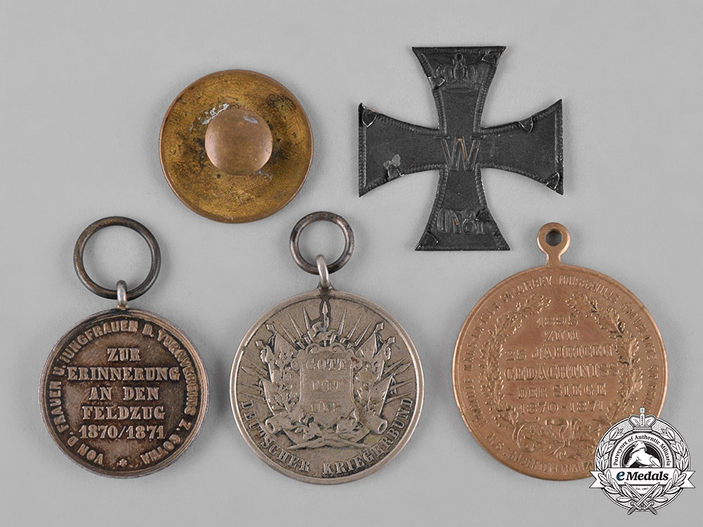 Germany, Imperial. A Lot of Franco-Prussian War Commemorative Medals