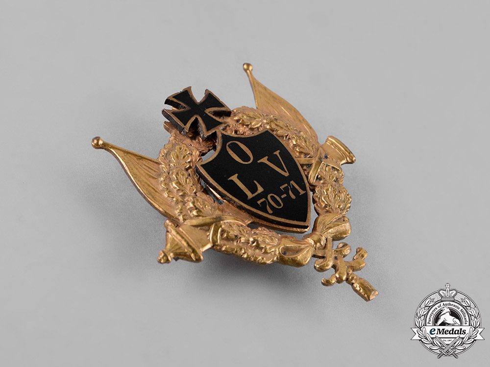 Germany, Imperial. A Franco-Prussian War Commemorative Badge