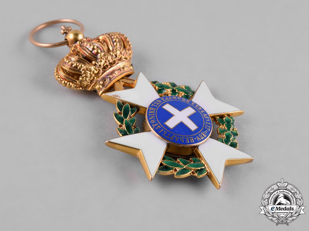 Greece, Kingdom. An Order of the Redeemer in Gold, IV Class Officer, c.1940