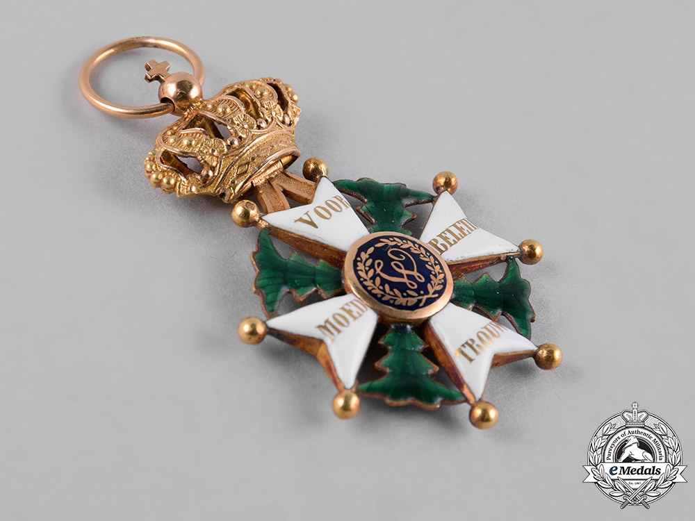 Netherlands, Kingdom. A Military Order of William in Gold, III Class Knight, c.1850