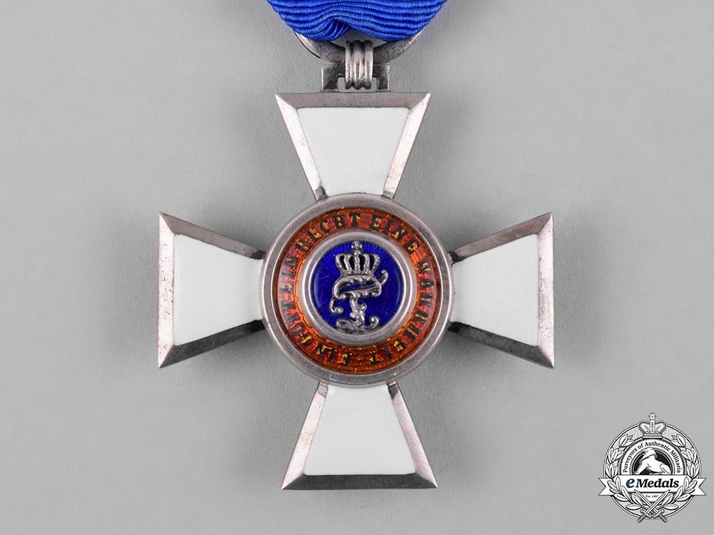 Oldenburg, Grand Duchy. A House & Merit Order of Peter Friedrich Ludwig, II Class Knight, c.1910
