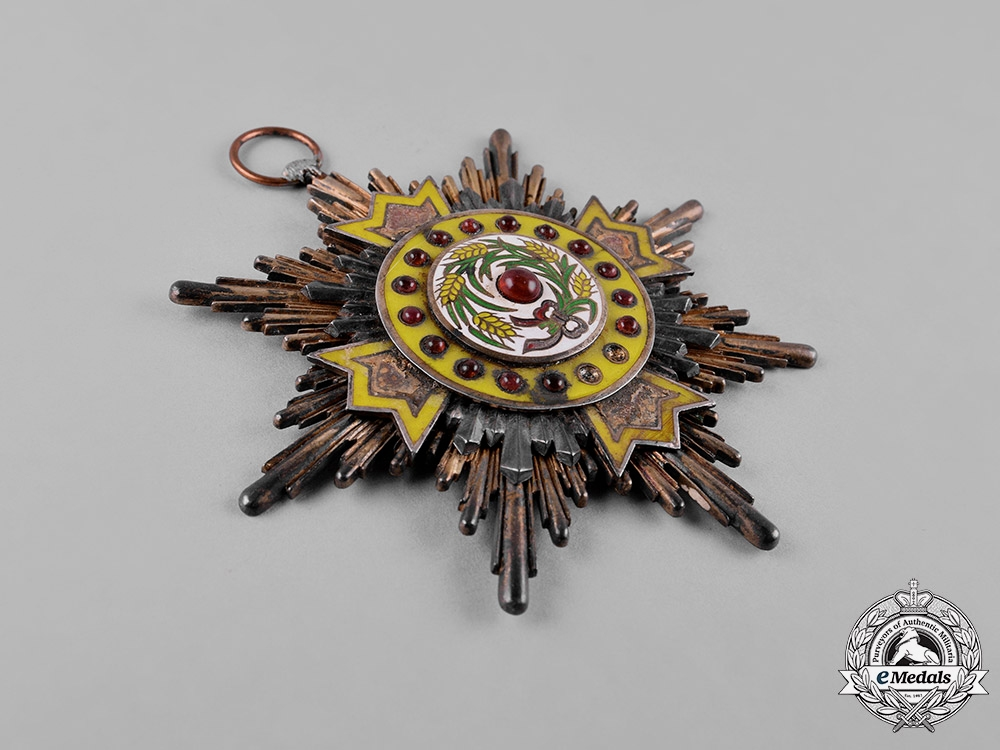 China, Republic. An Order of the Precious Brilliant Golden Grain, I Class Grand Cross Badge, c.1915