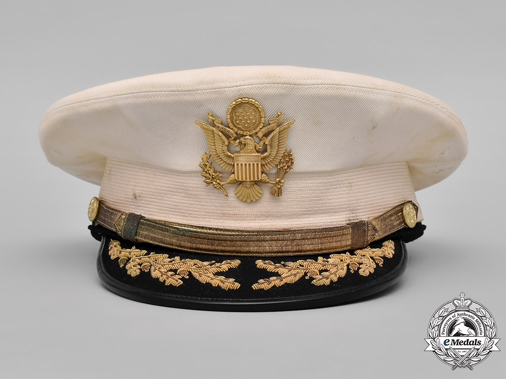United States. Two United States Army Officer's Visor Caps, c.1944