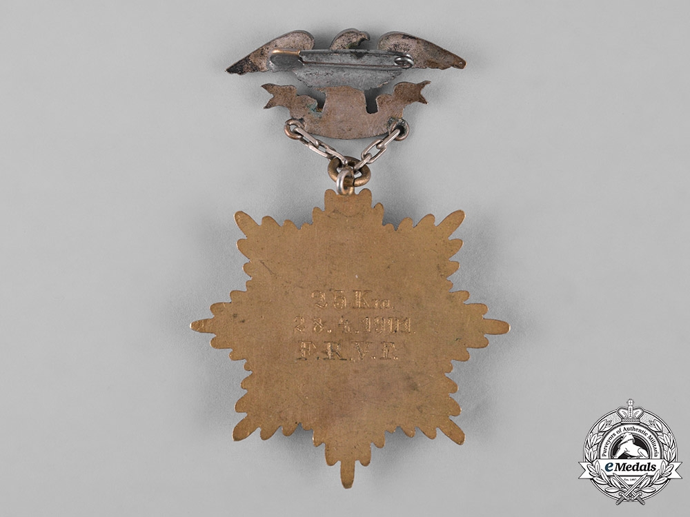 Germany, Imperial. A Cycling Competition Medal, II Prize, c.1901