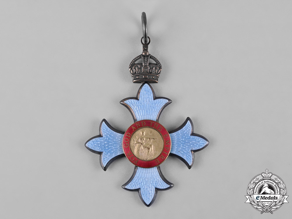 United Kingdom. A Most Excellent Order of The British Empire, Commander, Military Division (CBE) Badge, c.1920
