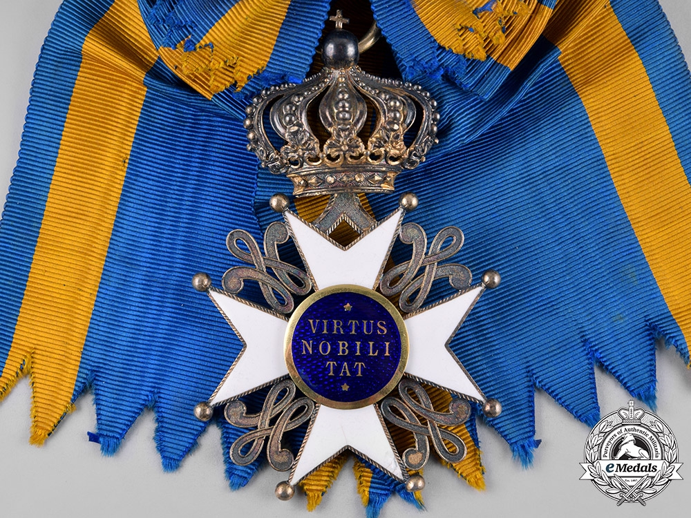 Netherlands, Kingdom. An Order of the Lion, Knight Grand Cross, by A. Moussault, c.1890