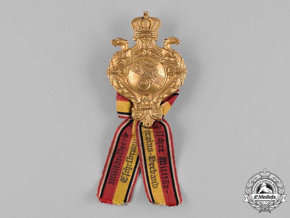 Germany, Imperial. A Baden Military Association Membership Badge