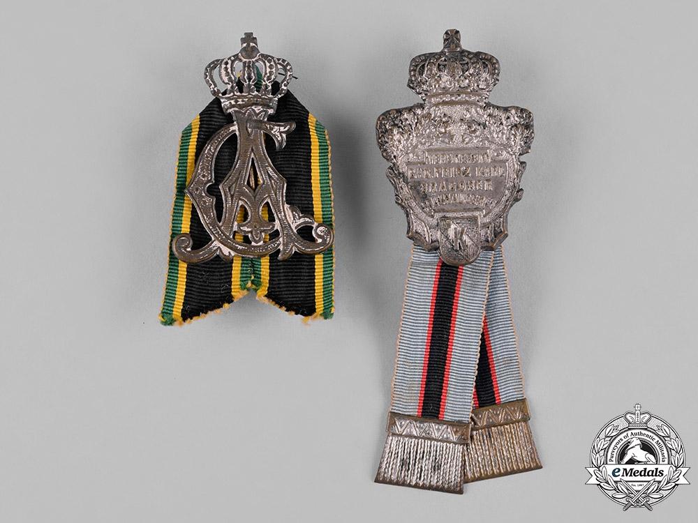 Germany, Imperial. A Lot  of War Veterans Association Membership Badges