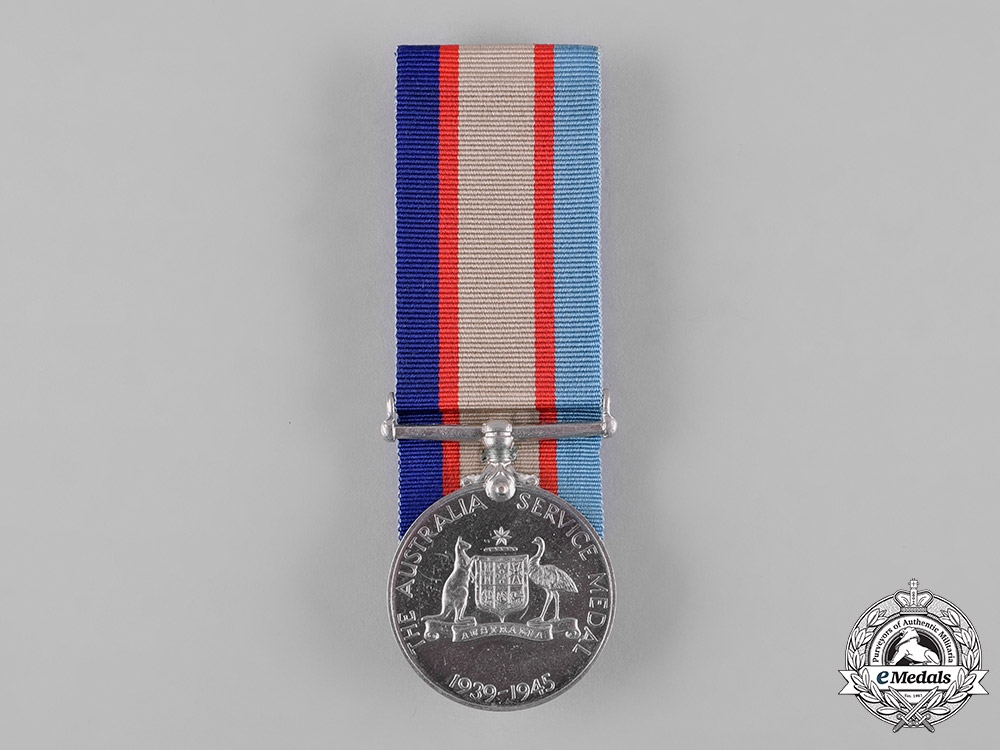 Australia. A Second War Service Medal 1939-1945, to L.T. Foord