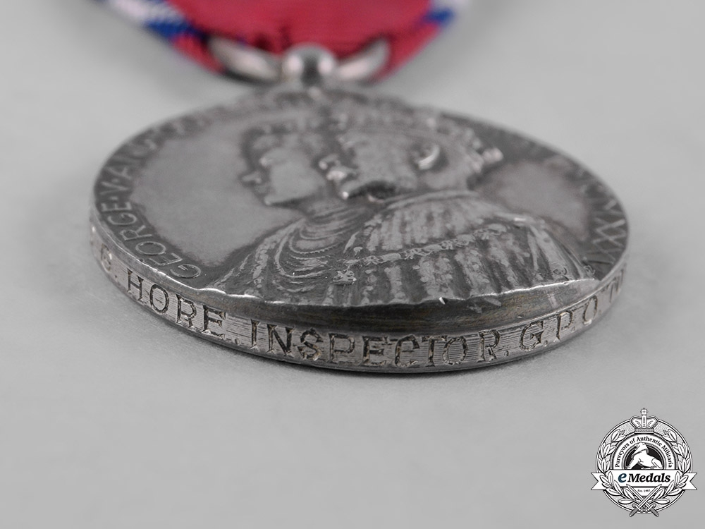 United Kingdom: A King George V & Queen Mary Silver Jubilee Medal 1935