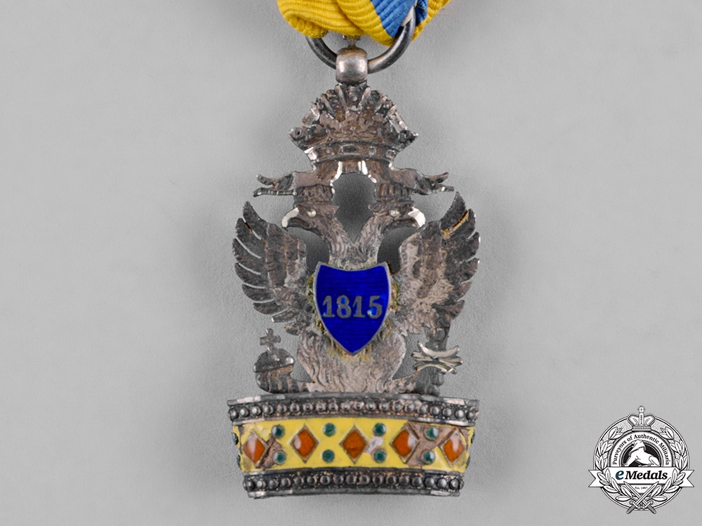 Austria, Imperial. An Order of the Iron Crown, III Class Knight, c.1816