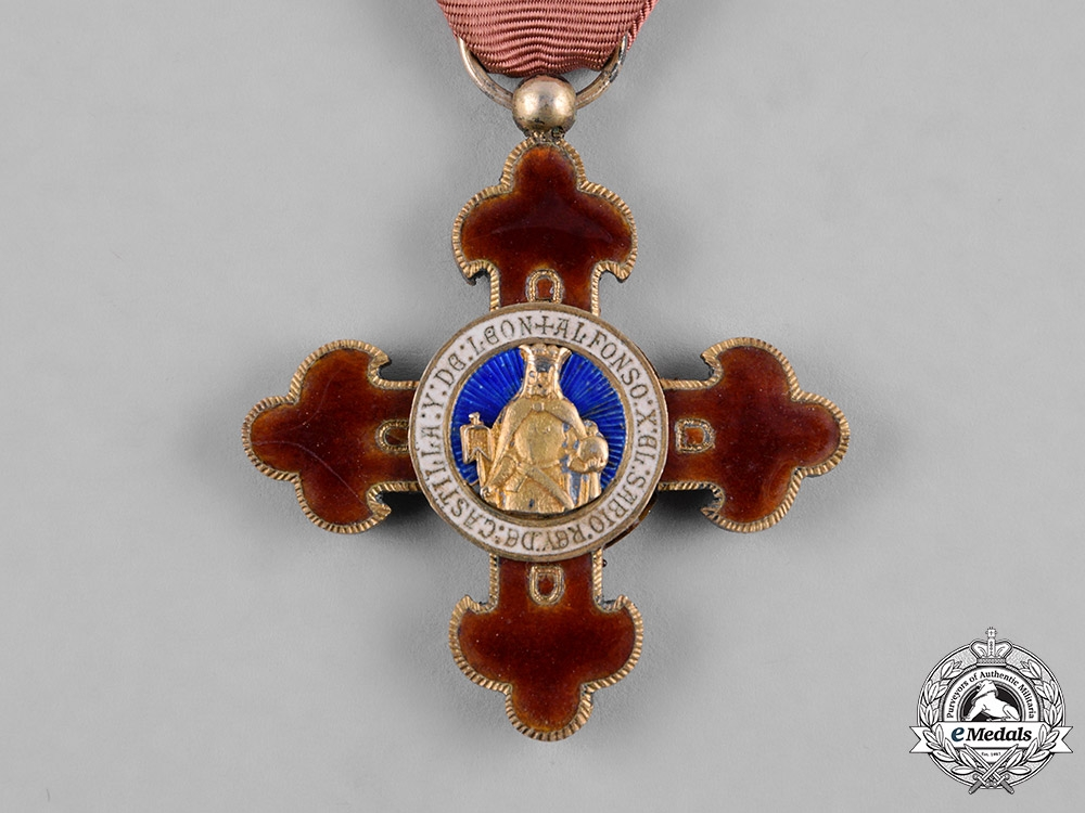 Spain, Franco Period. An Order of Alfonso X the Wise, Knight, c.1950