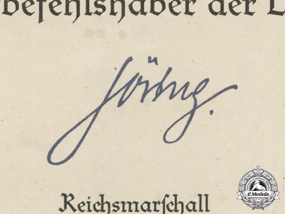 Germany. An Outstanding Document Group to Luftwaffe Ace Leutnant Peter Düttmann, 152 Victories