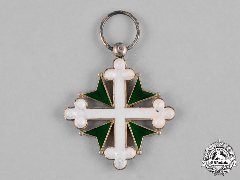 Italy, Kingdom. An Order of St. Maurice and St. Lazarus, V Class Knight, c.1880