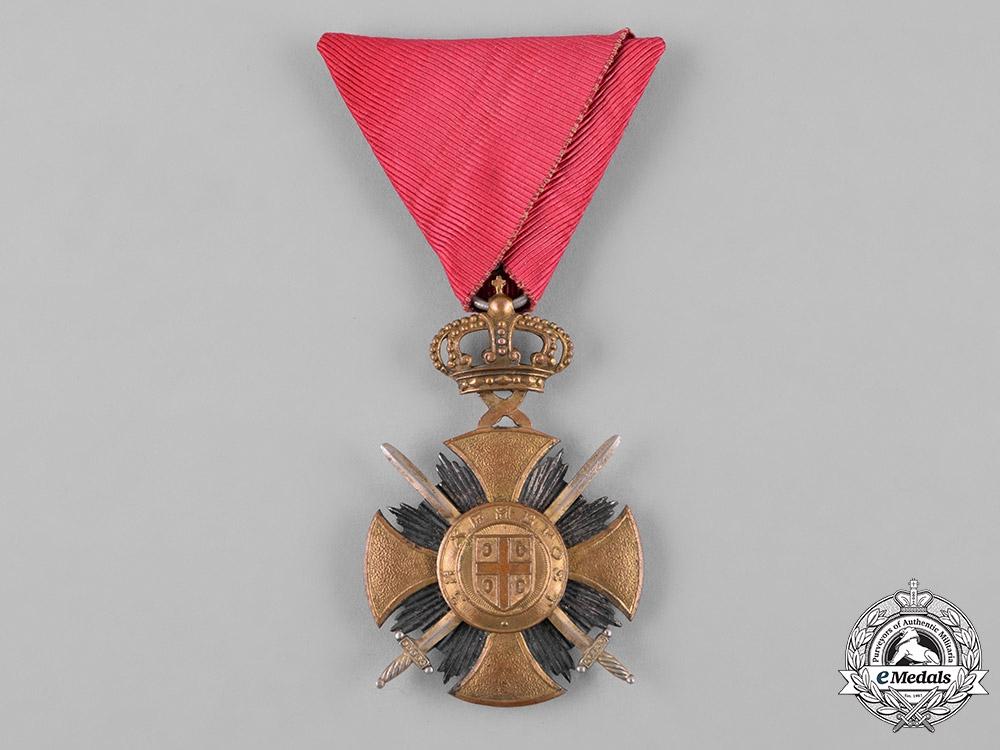 Serbia, Kingdom. A Military Order of the Star of Karageorge, I Class, c.1918