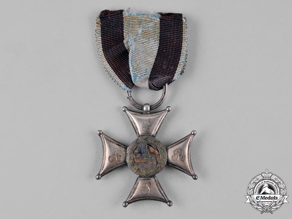 Poland, Kingdom. An Order of Military Virtue, V Class Silver Cross, c.1800