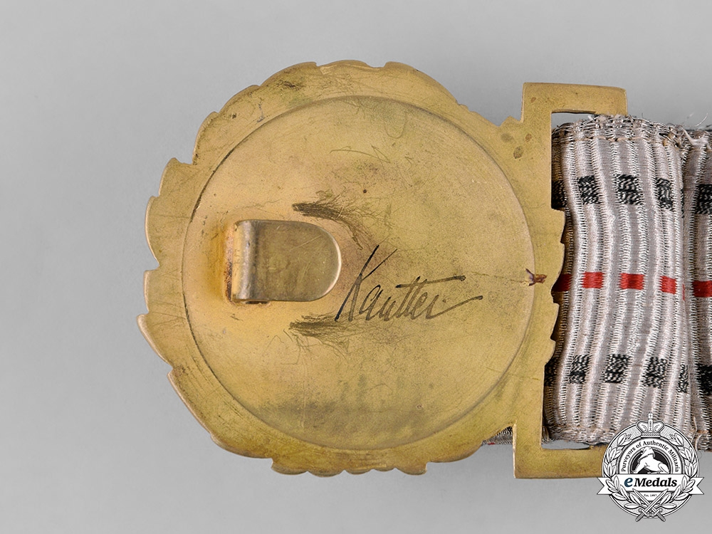 Germany, Imperial. A Officer's Brocade Parade Belt