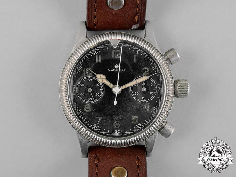 Germany, Luftwaffe. A Tutima Chronograph Watch