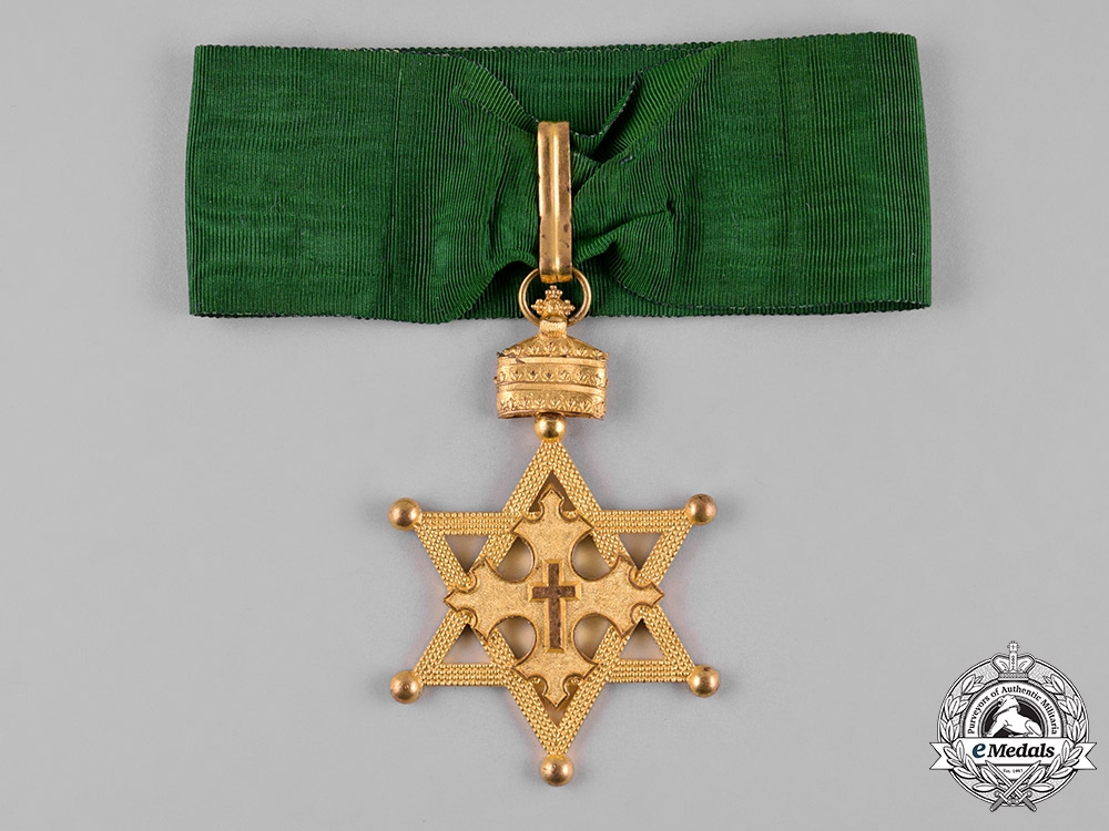 Ethiopia, Empire. An Order of the Seal of Solomon, Commander,